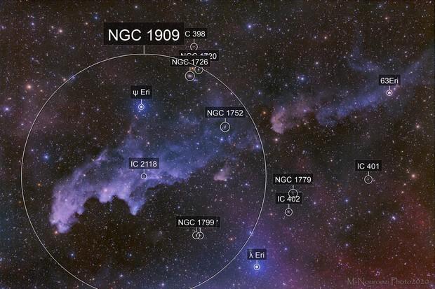 Witch Head Nebula!(New Process)