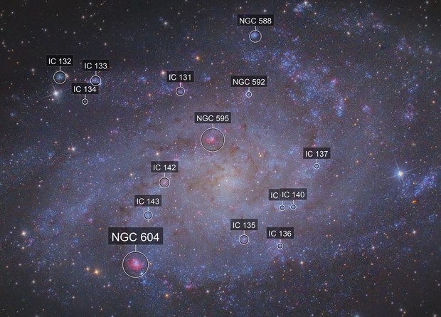 M33 - Triangle Galaxy!
