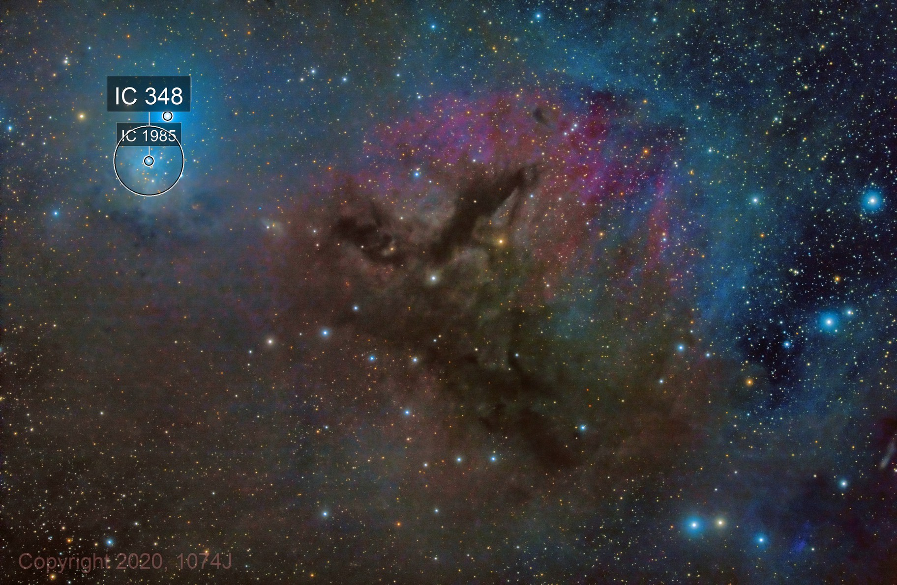 LBN 749, IC 348