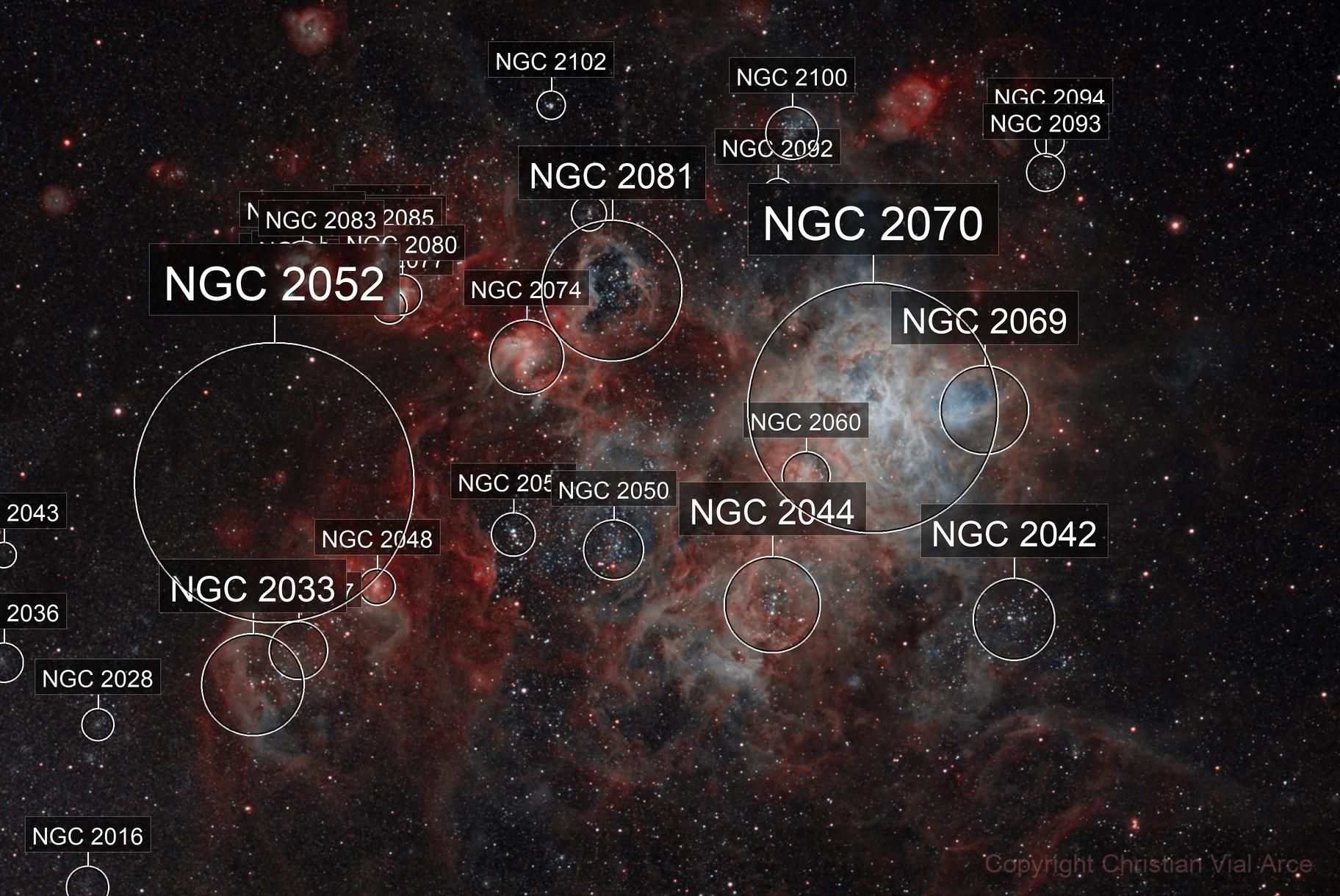 Tarantula Nebula (NGC 2070) Ver. 2