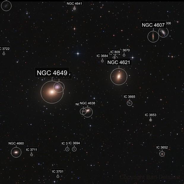 M59 - M60 region