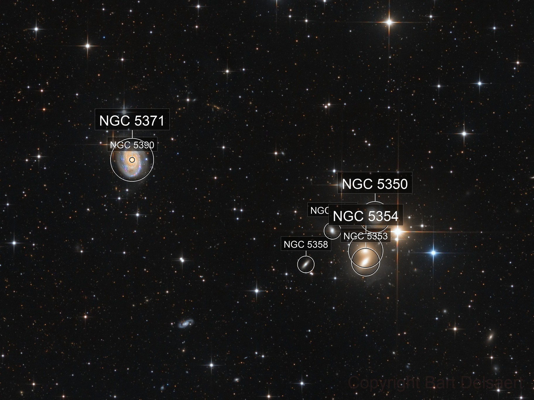 NGC 5371 and friends