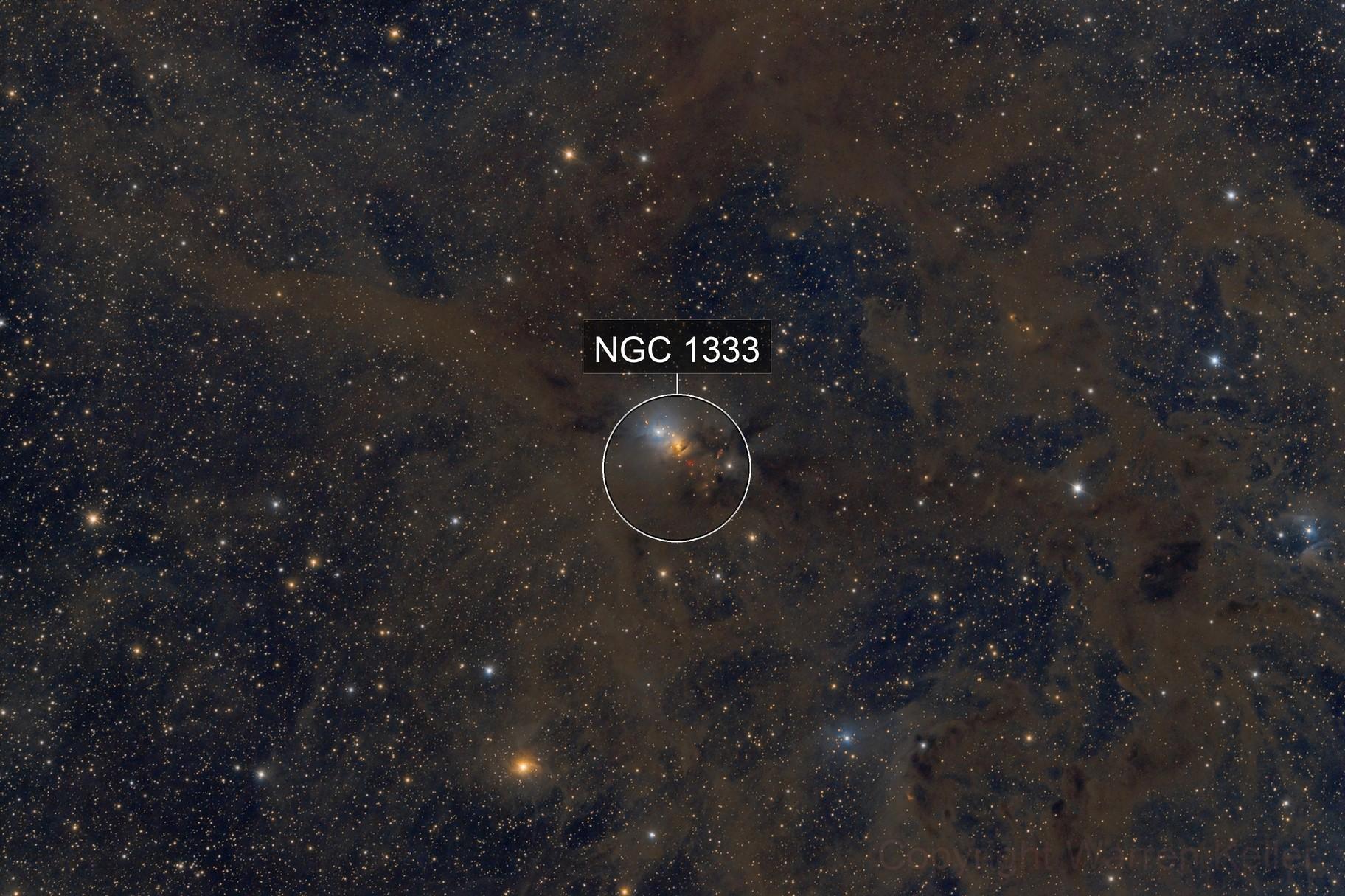 NGC  1333 Wide Field