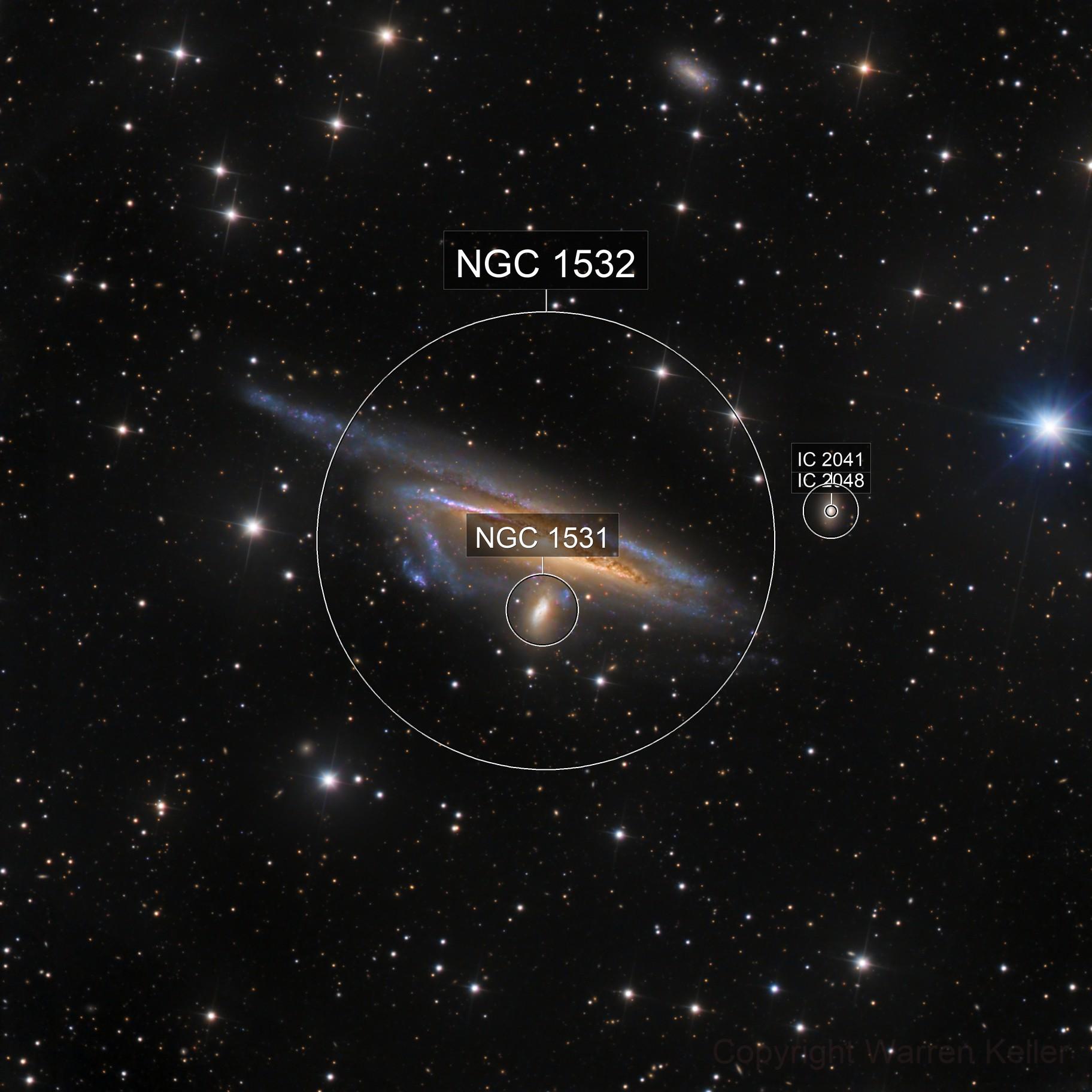 Haley's Coronet - NGC 1531