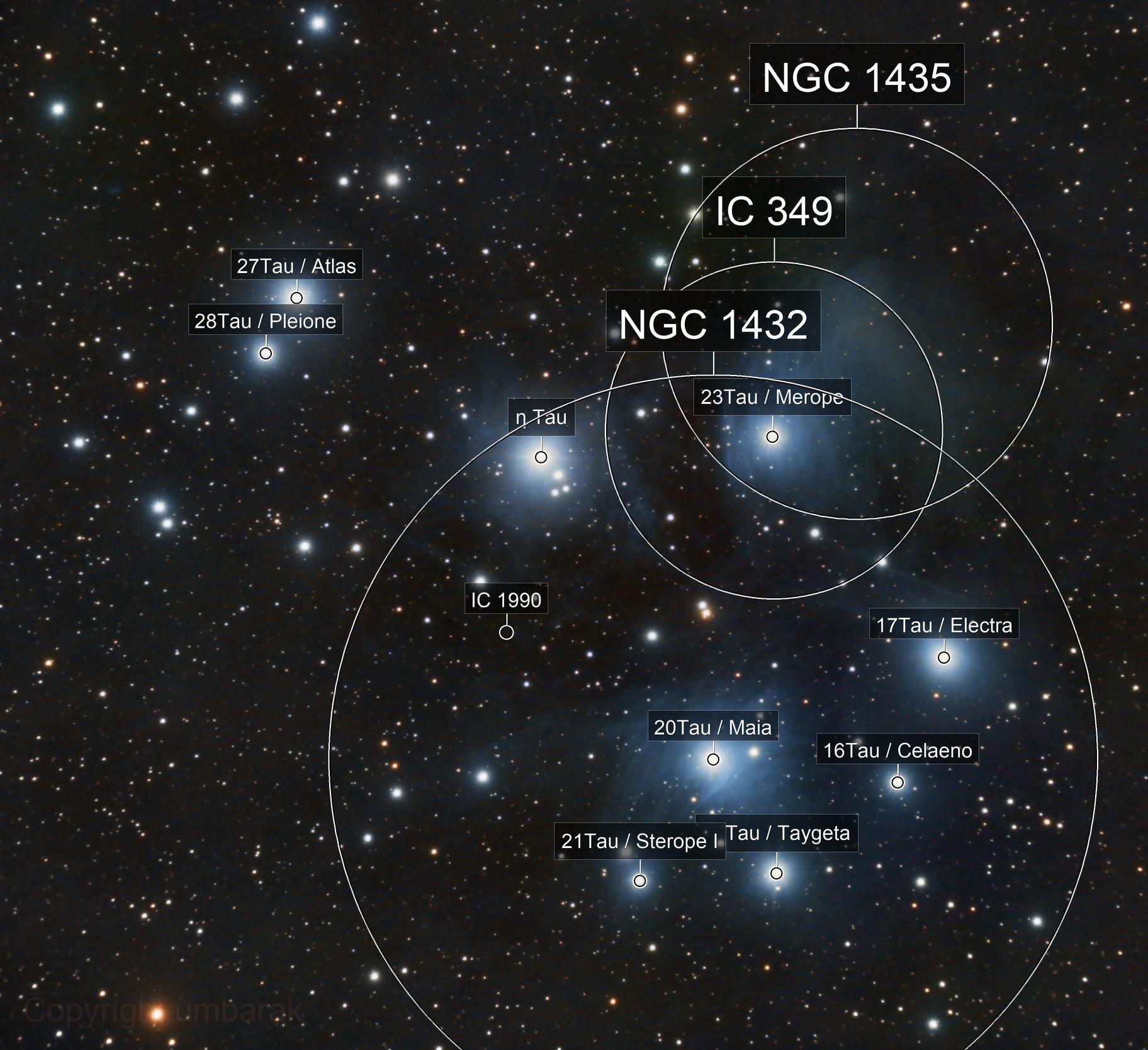 The Pleiades-M45