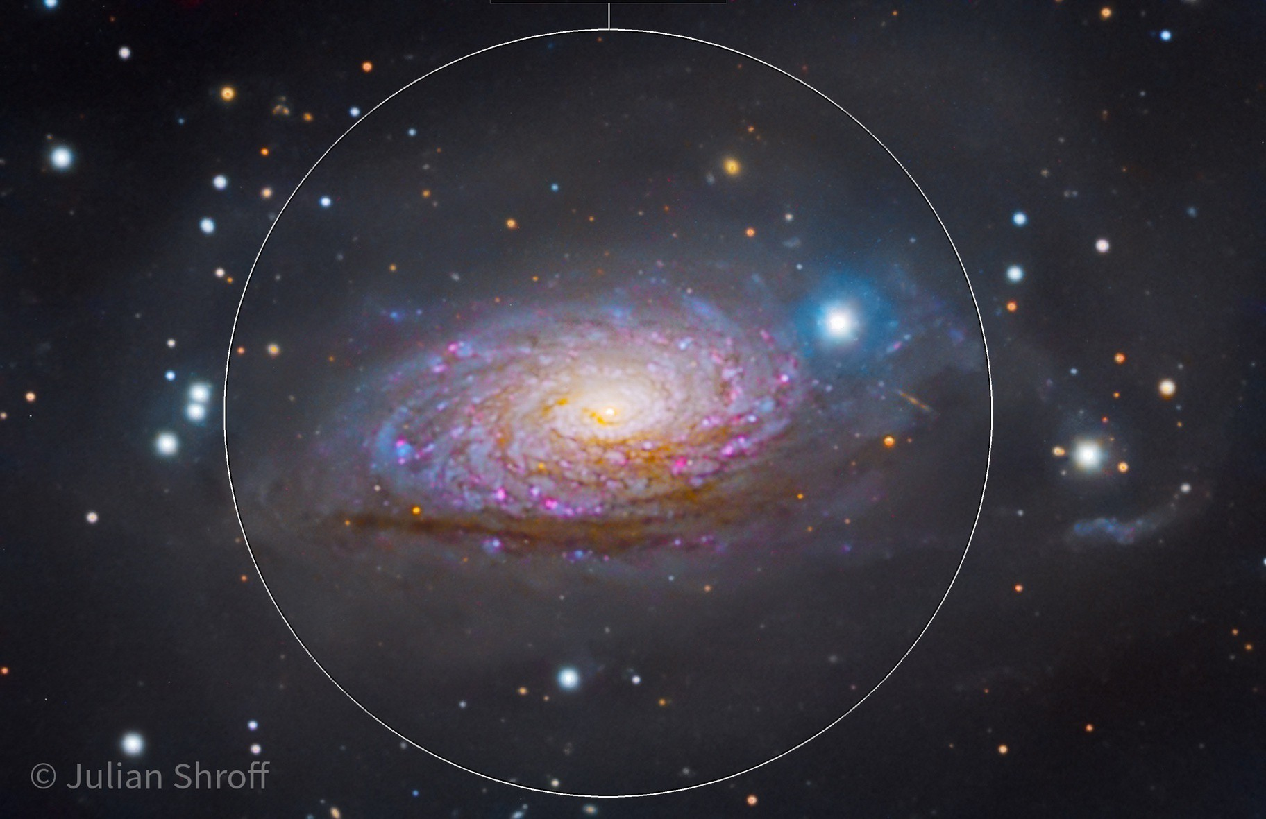 What the Crop?! M63 at 400m Focal length