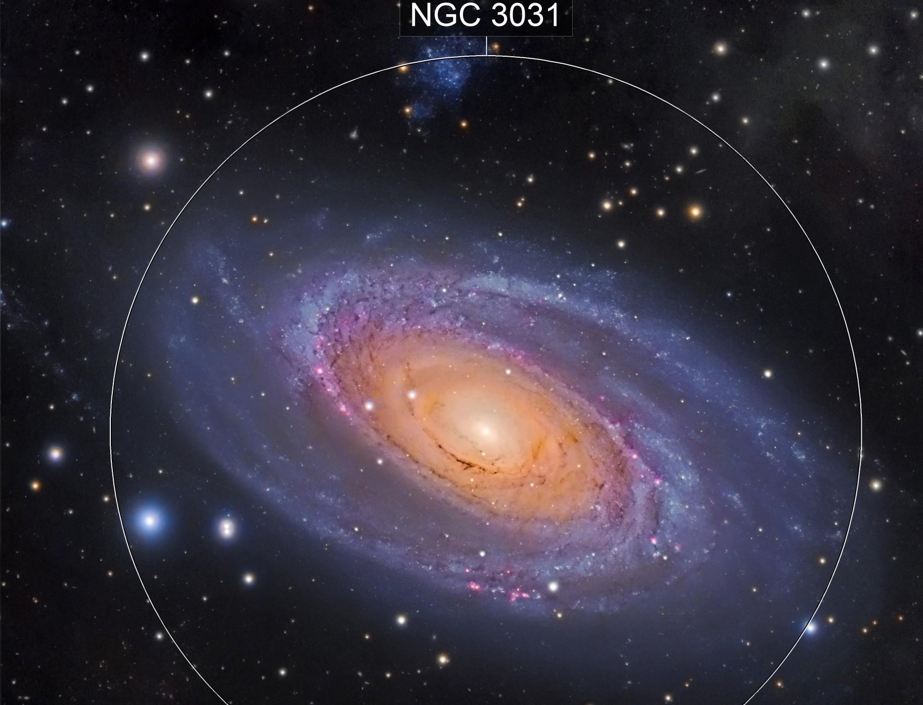 A Jewel in the night sky - M81