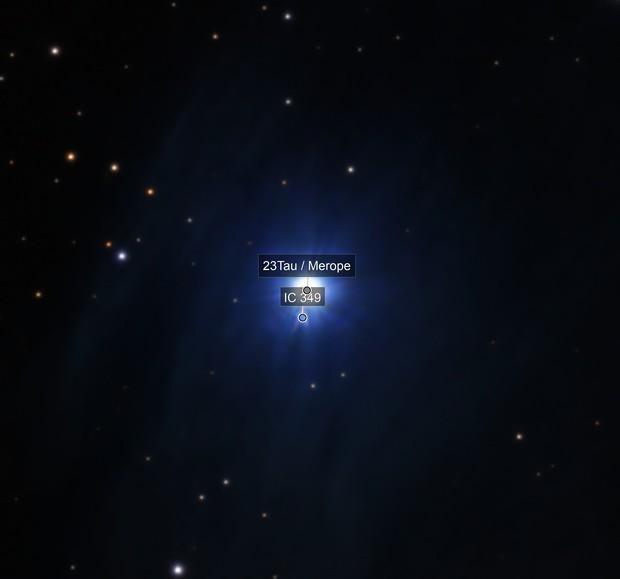 IC 349 Barnard's Merope Nebula