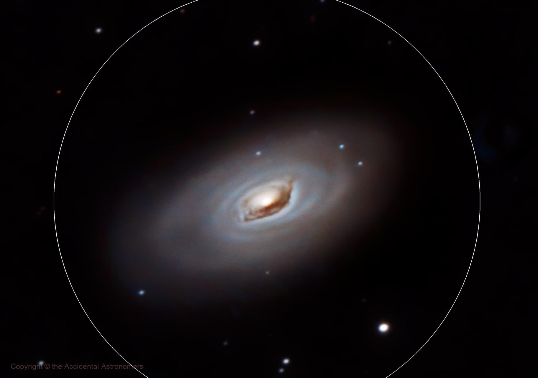 Messier 64 - The Black Eye Galaxy - Full Moon Galaxy Quest Part 3