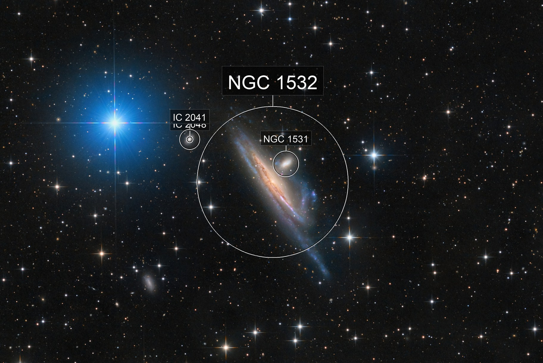 NGC 1532 and friends