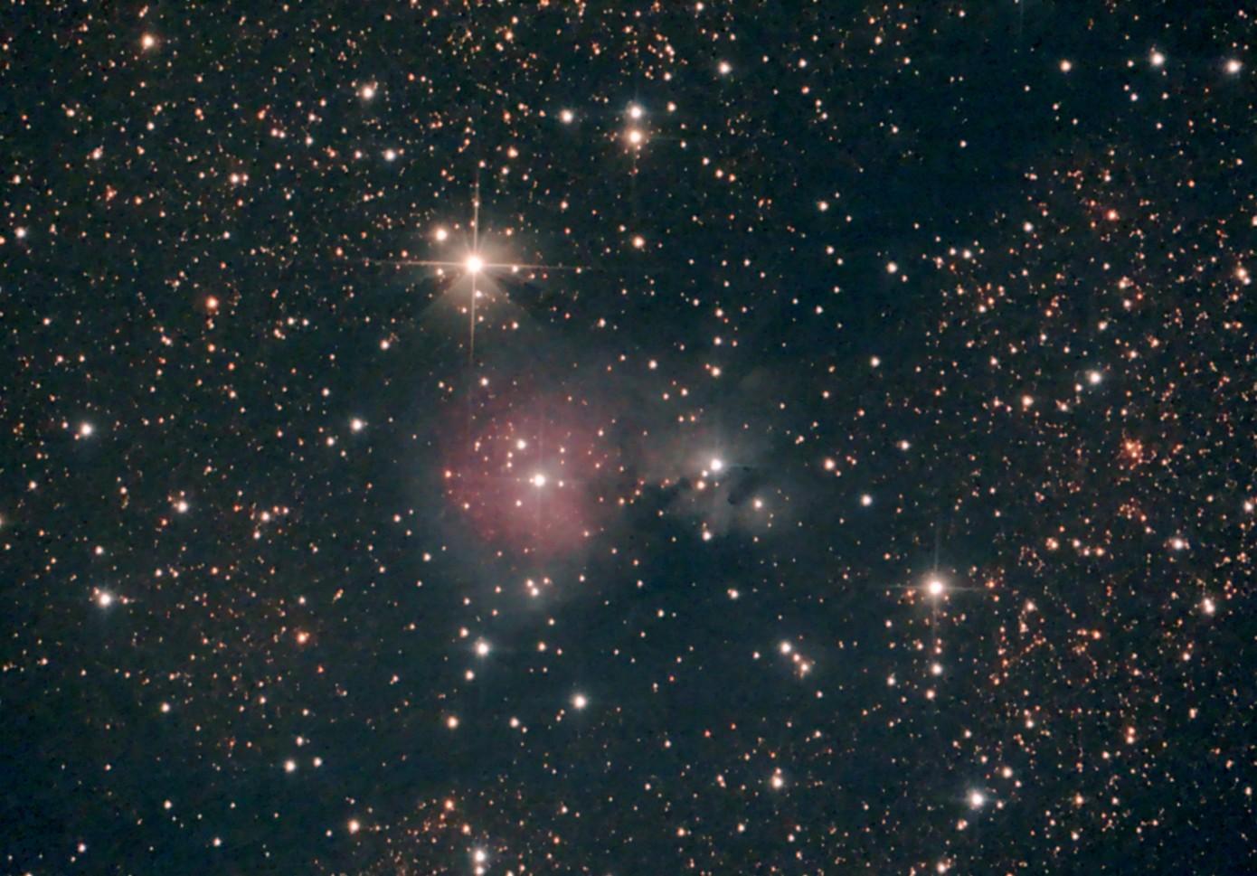 SH2-82 (Little Trifid nebula)