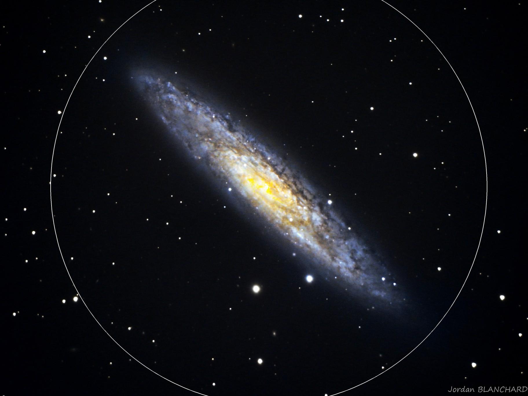 NGC253 - Galaxie du Sculpteur - LRGB