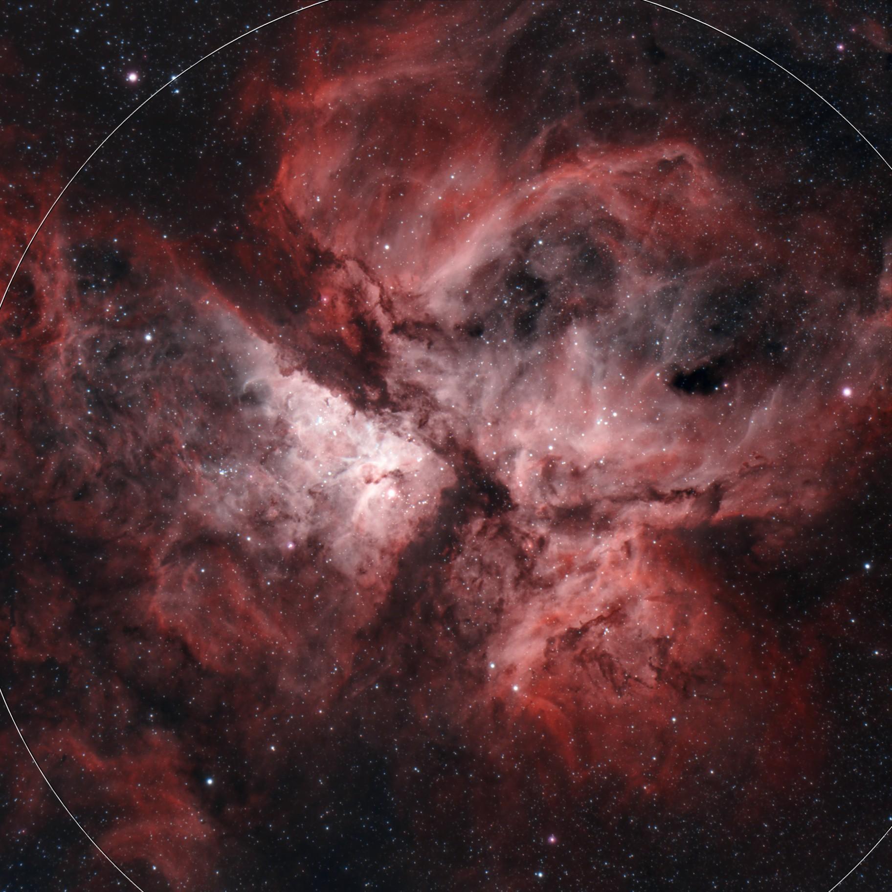 Carina Nebula ED72