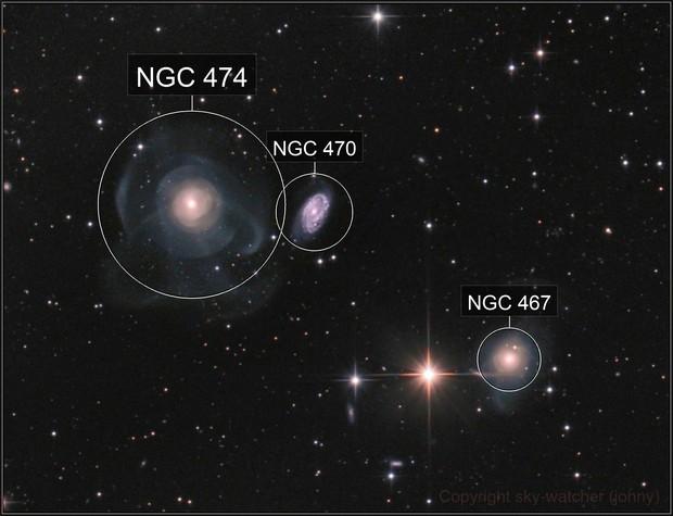 Shell galaxy NGC 474 (Arp 227)