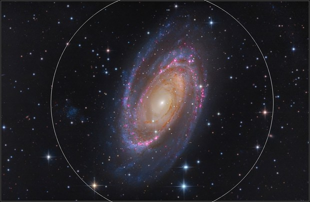 M81 L-RGB-Ha