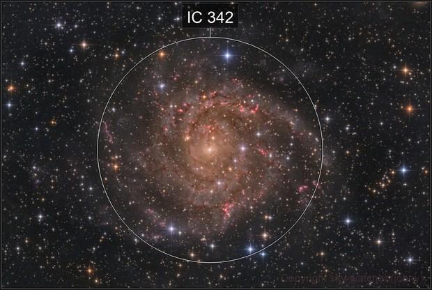 IC 342 The hidden galaxy