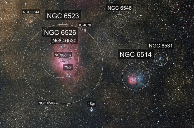 Messier 8 & Messier 20