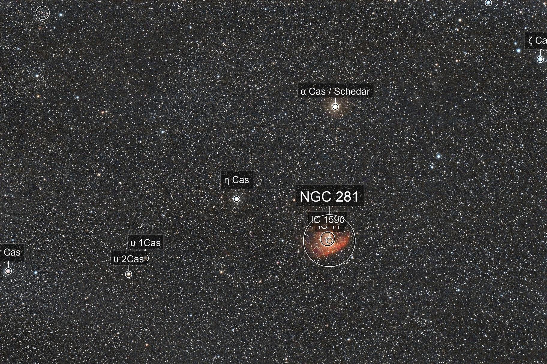 NGC281 Widefield