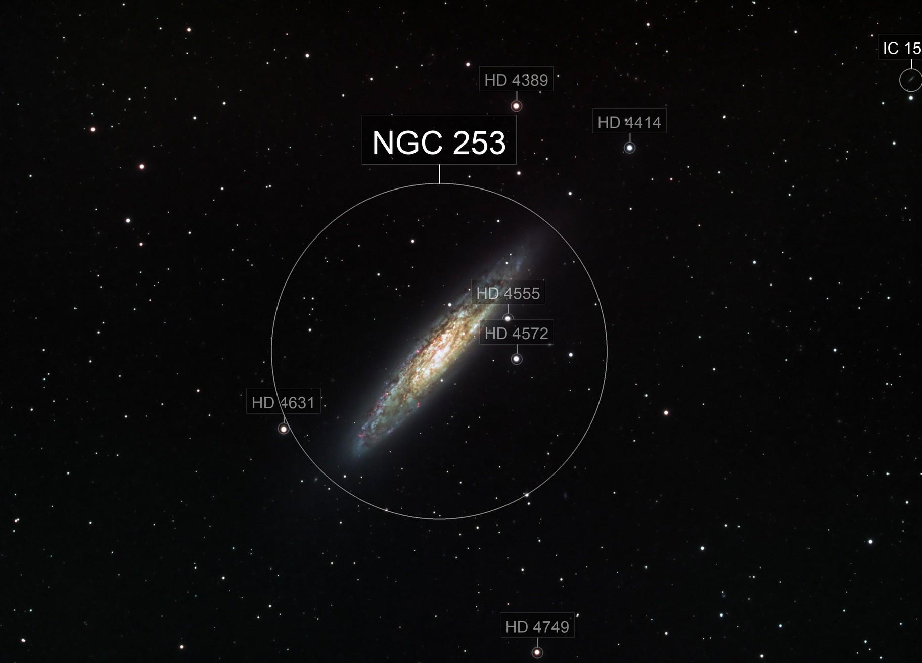 NGC253 in HaLRGB