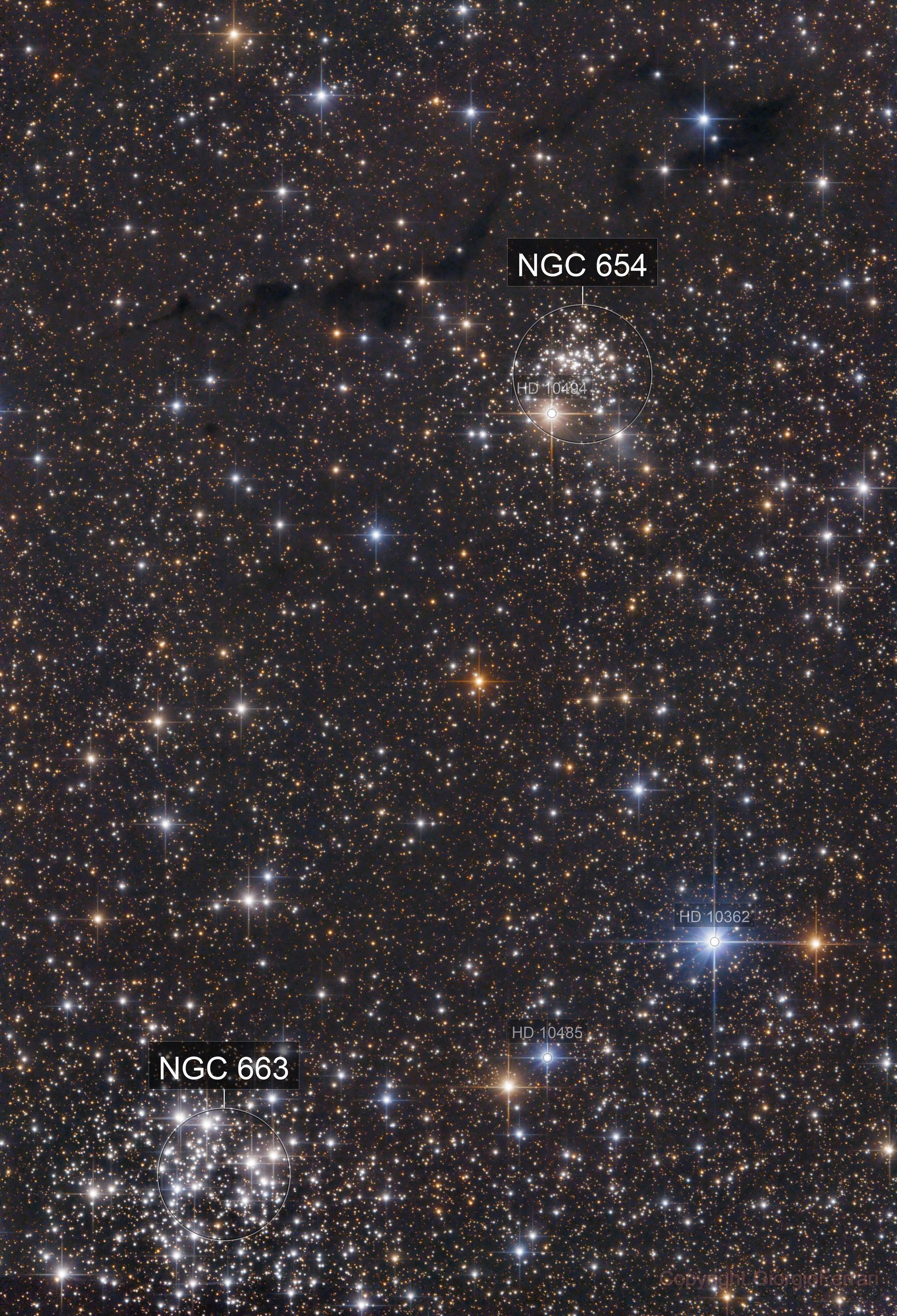 vdB6 - NGC654 - NGC663 - LDN1343-4