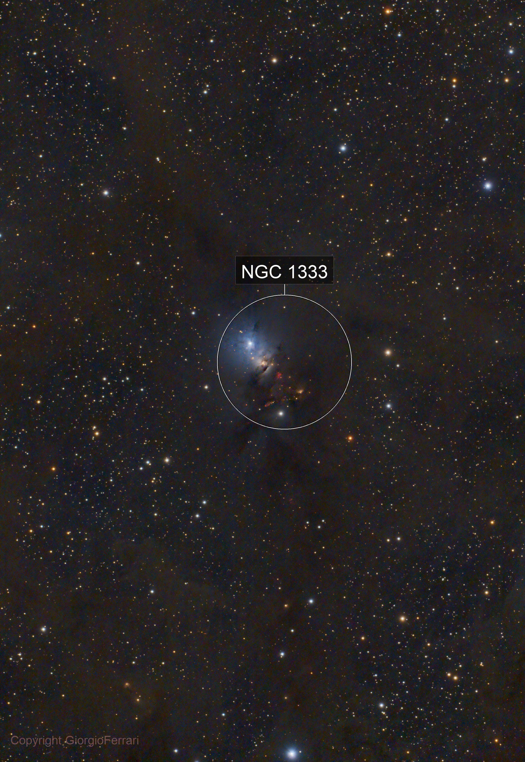 NGC1333 Molecular Cloud