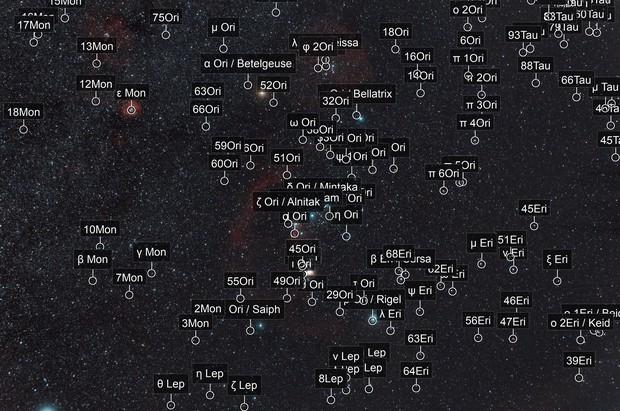 Constellation d'Orion en moins de 30 minutes