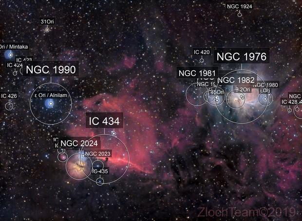 L'épée d'Orion - M42, IC434.....