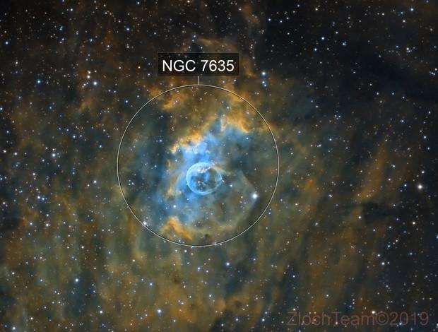 NGC7635 - La nébuleuse de la bulle