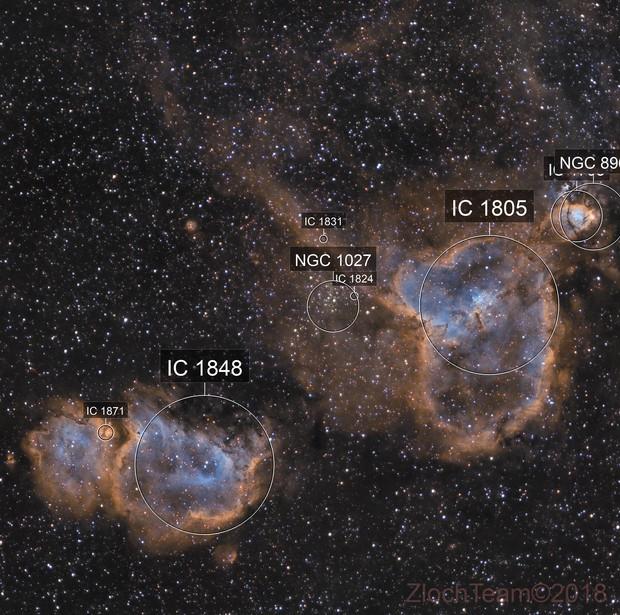 IC1805 - IC1848 - le Coeur et l'âme