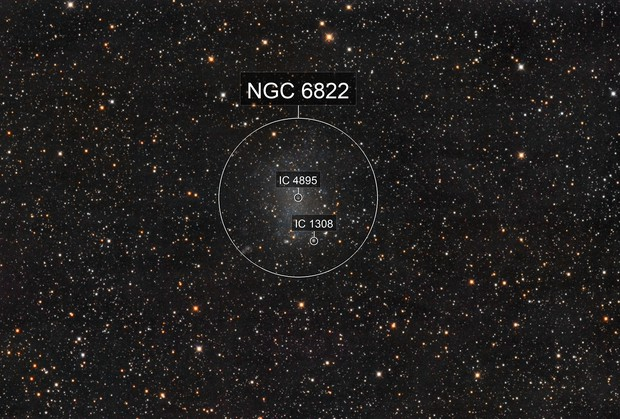 NGC6822 - Two fast scopes are better than 1