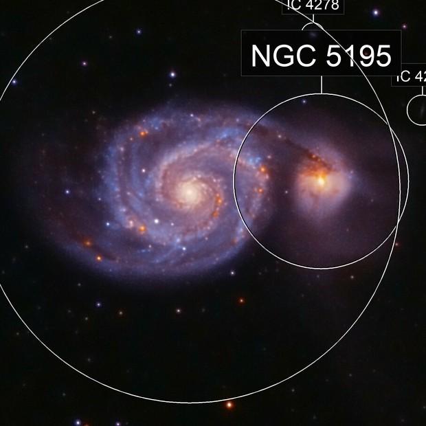 M51: Galaxia del Remolino