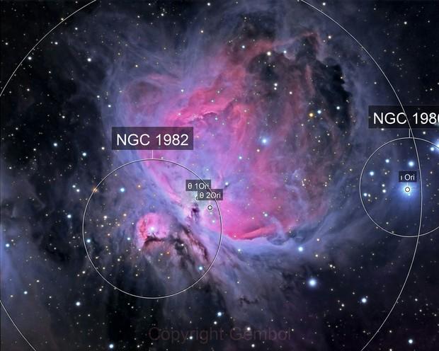 M42 & M43 - Orion Nebula
