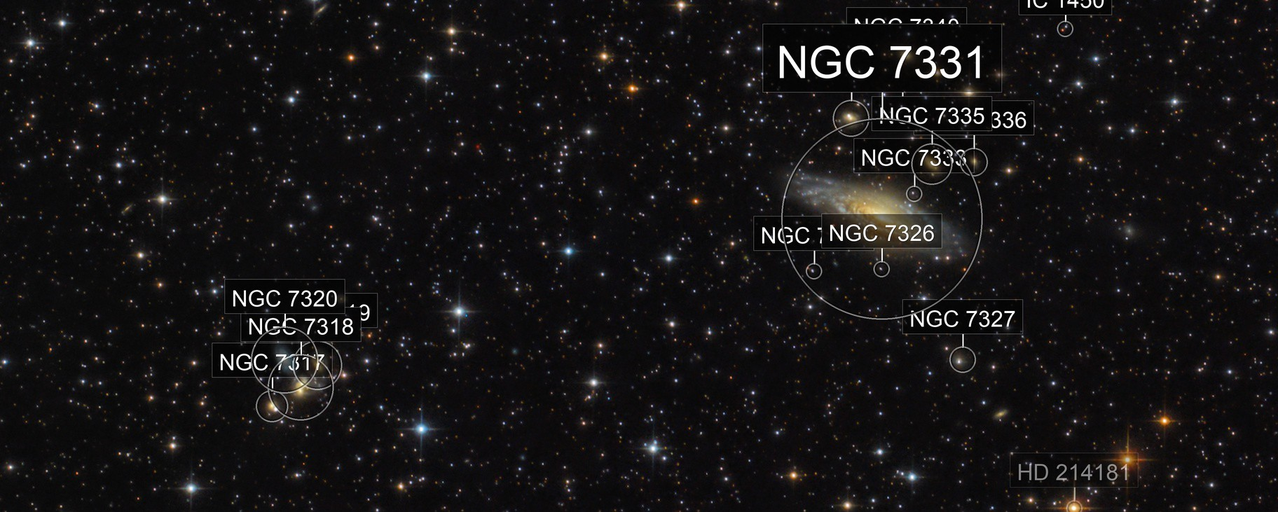 Stephan's Quintet and NGC 7331