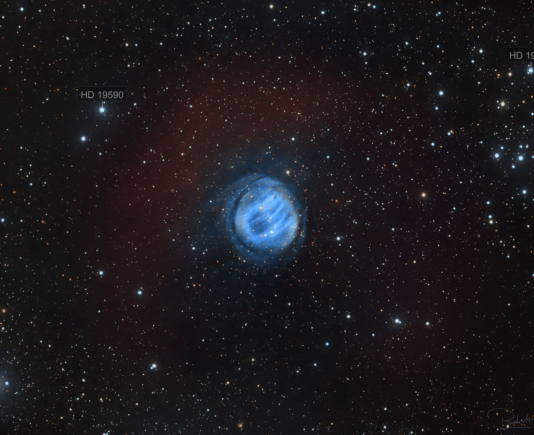 Sh2-200 Bearclaw Nebula