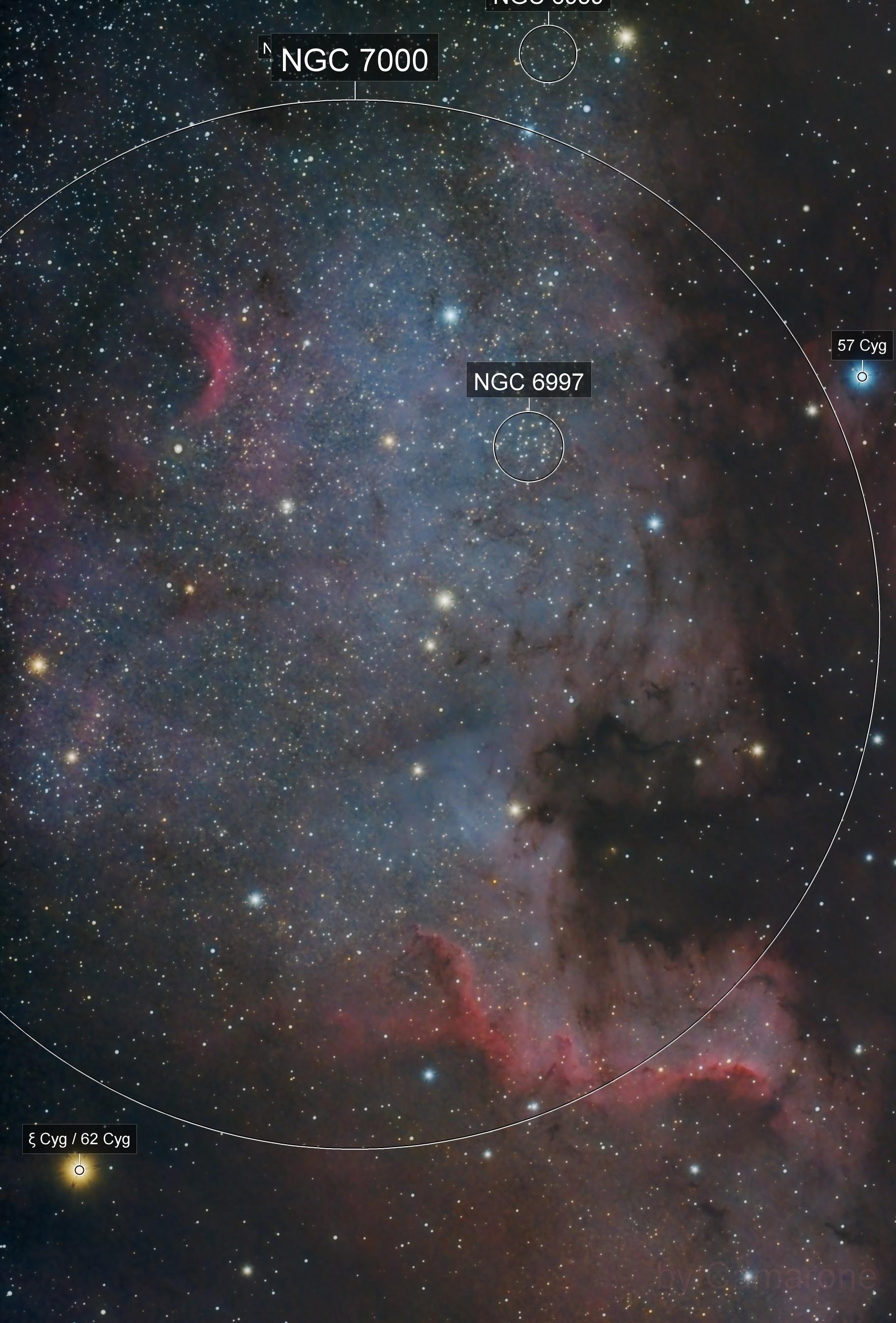 NGC7000 The Cygnus Wall. Summer is coming...