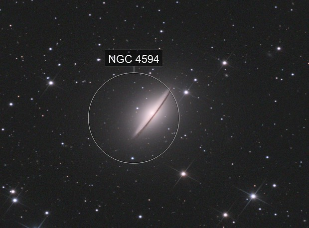 M104 LRVB Newton 150/750