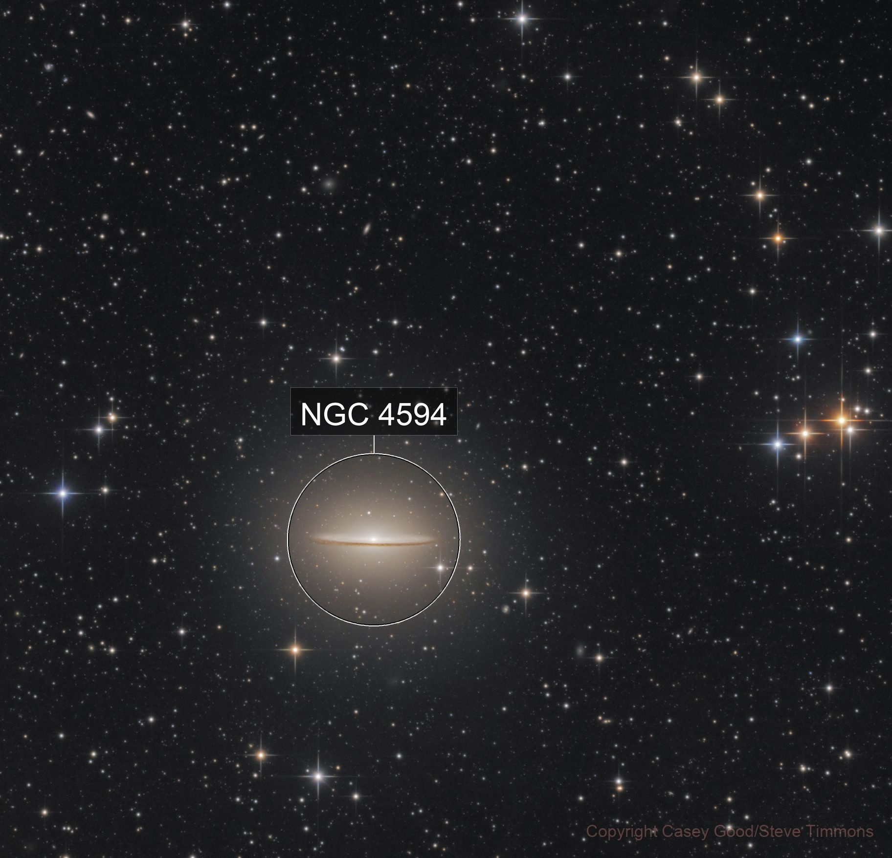 Messier 104 - The Sombrero