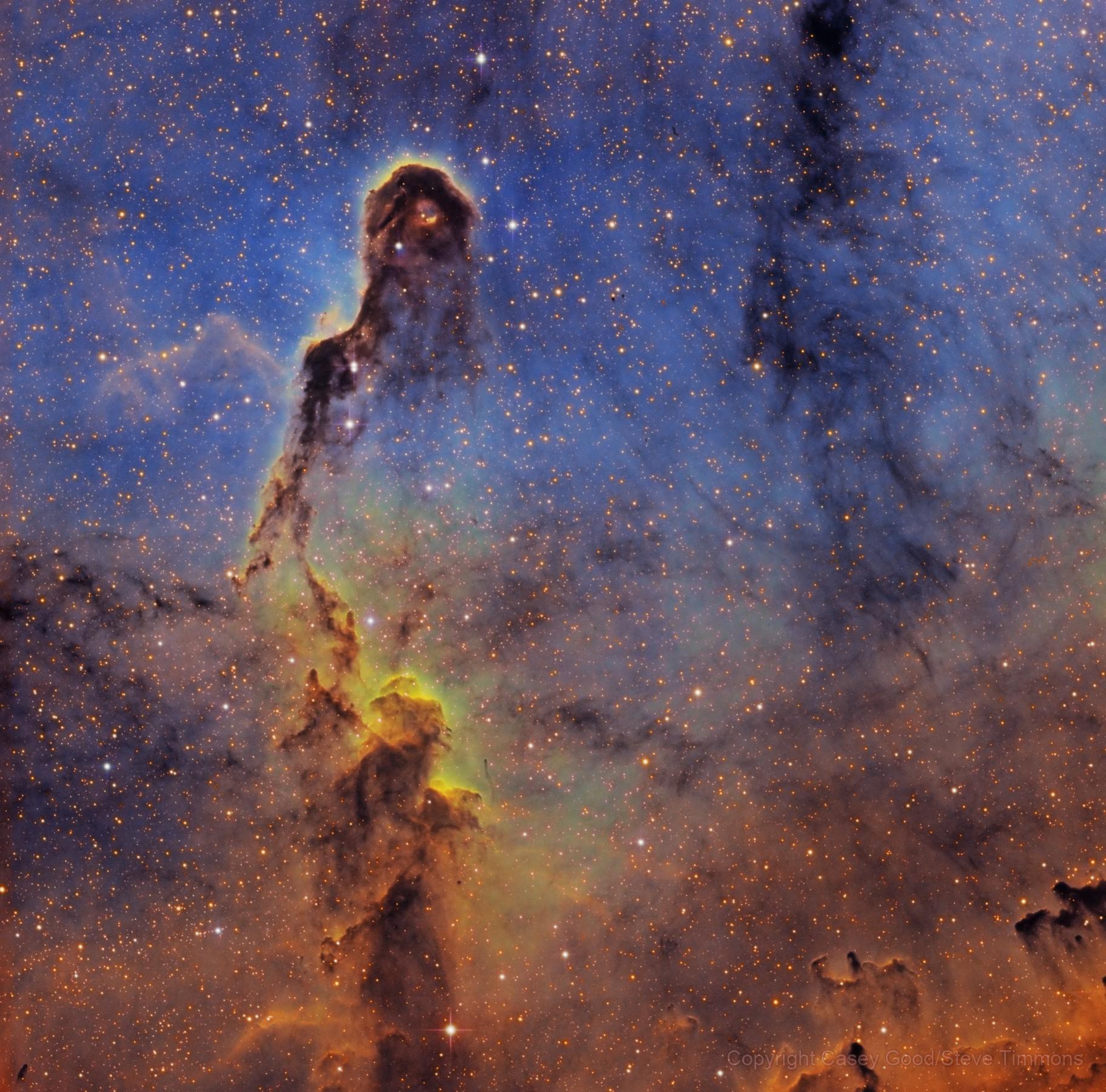 IC 1396 - Elephant Trunk in SHO