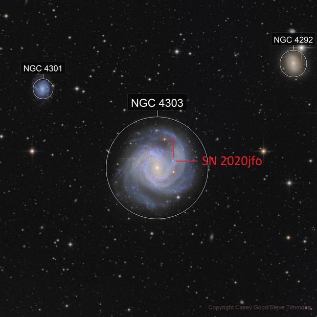 M61 SN2020jfo
