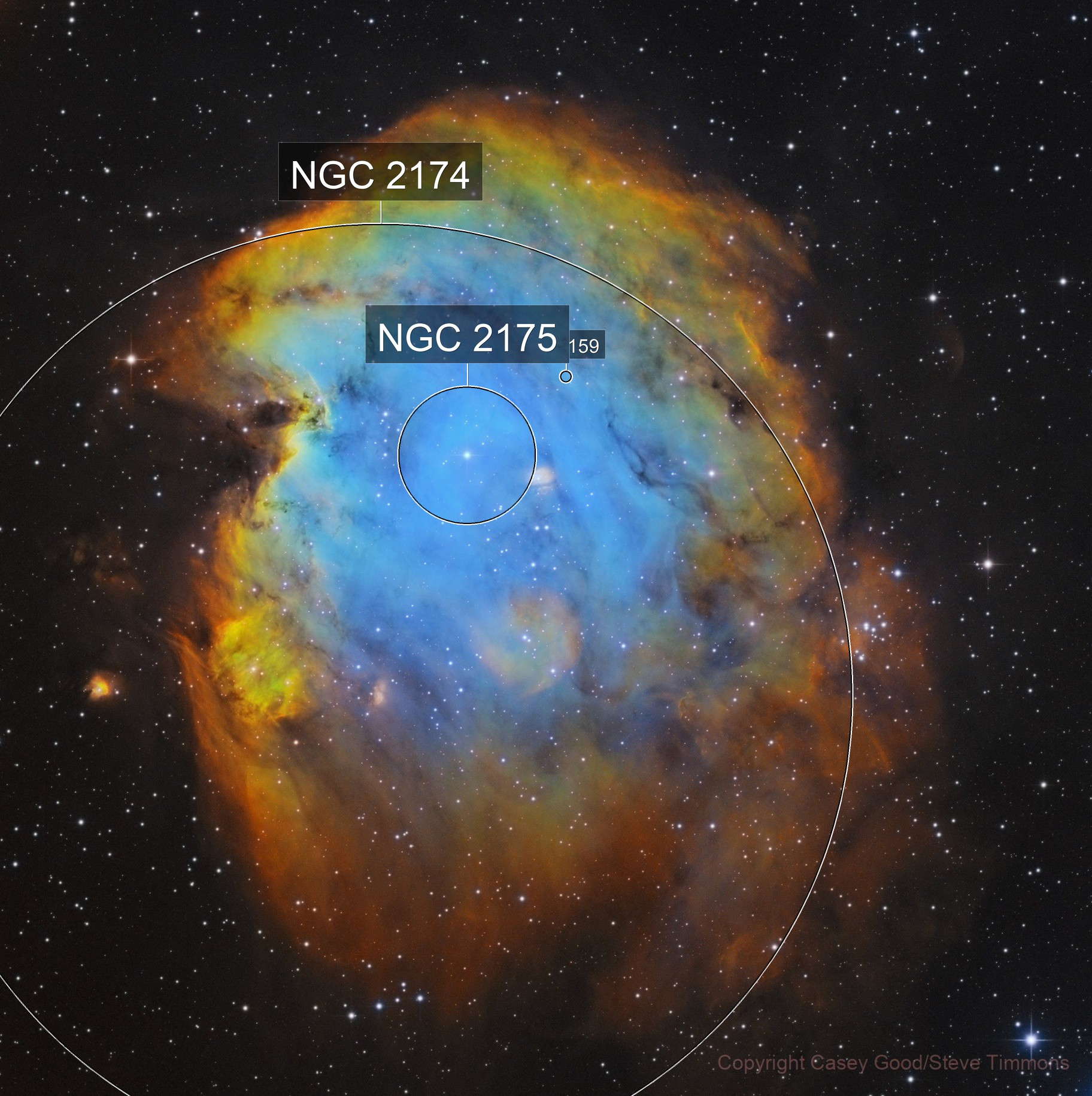 NGC 2174 - The Monkey's Head