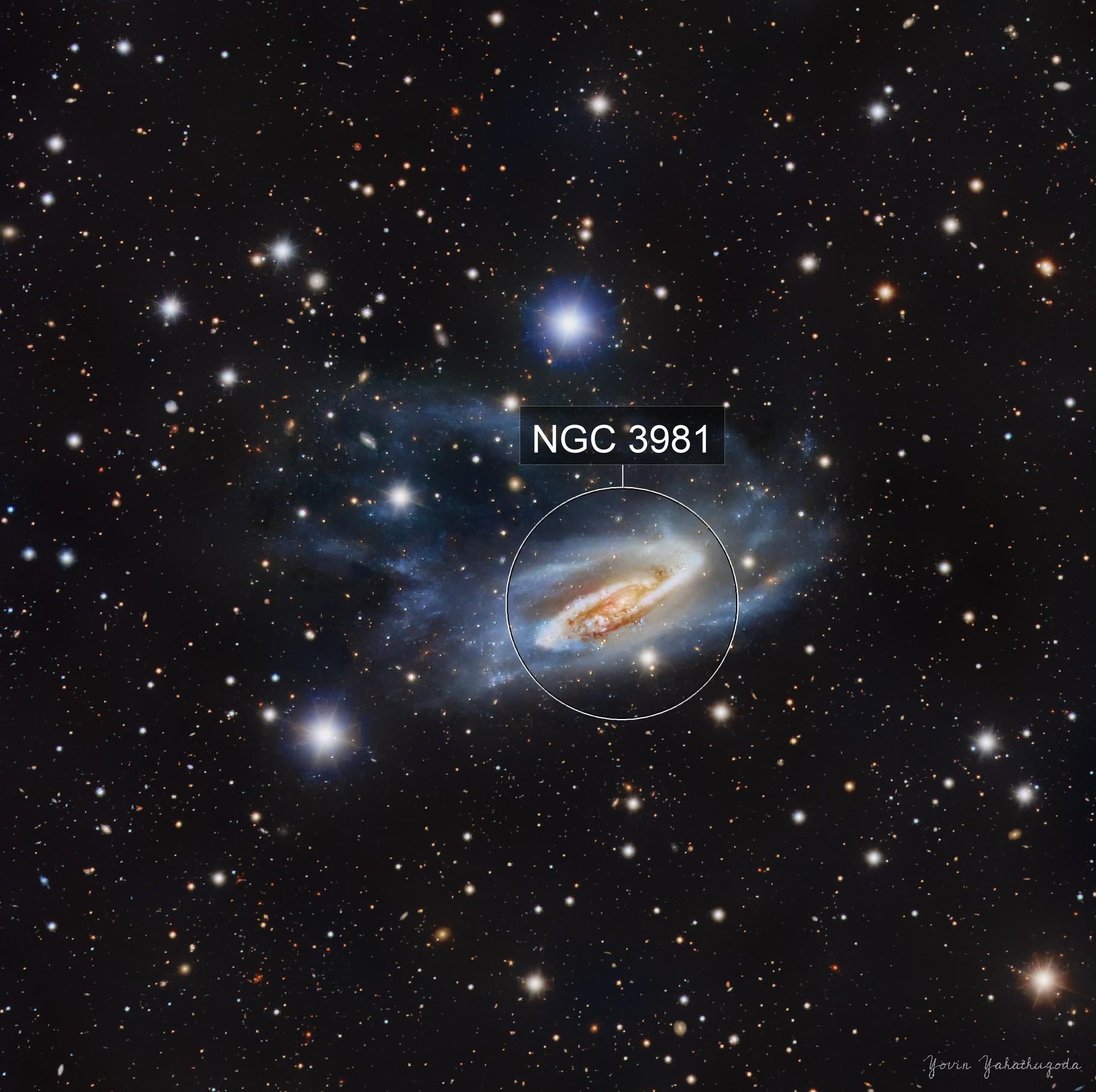 NGC 3981 - Spiral Galaxy