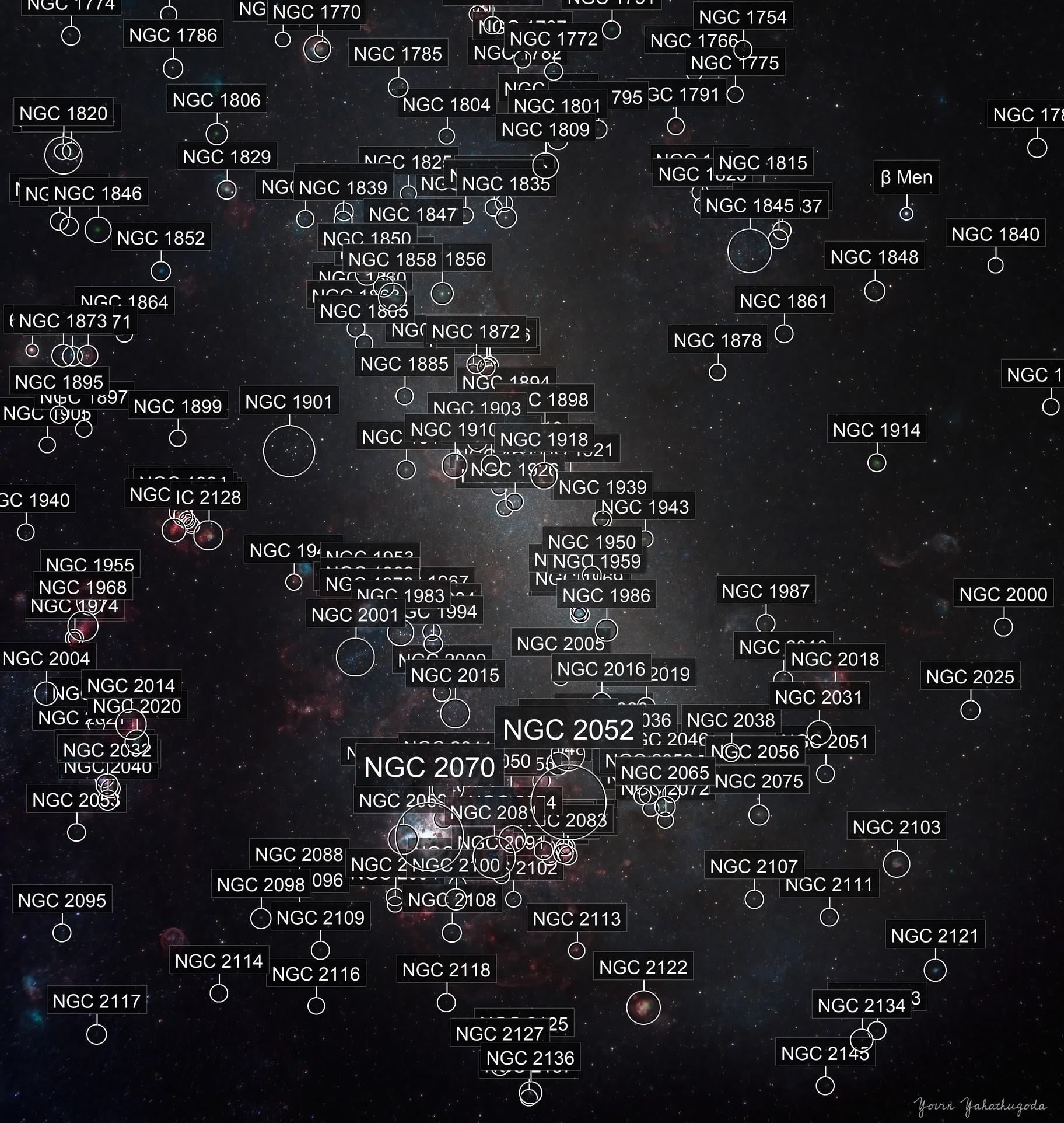 Large Magellanic Cloud (Ultra-wide field)