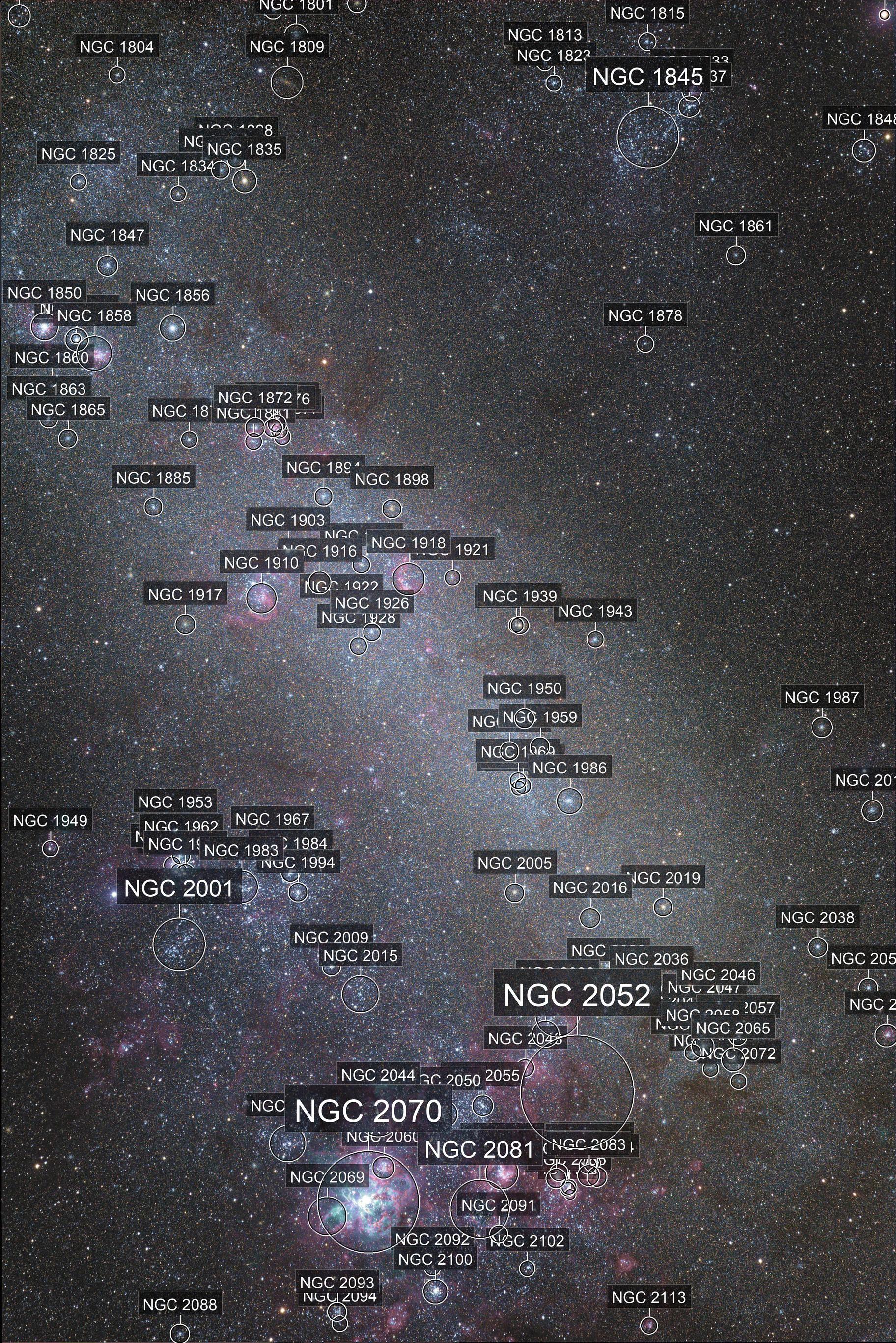 Large Magellanic Cloud LRGB