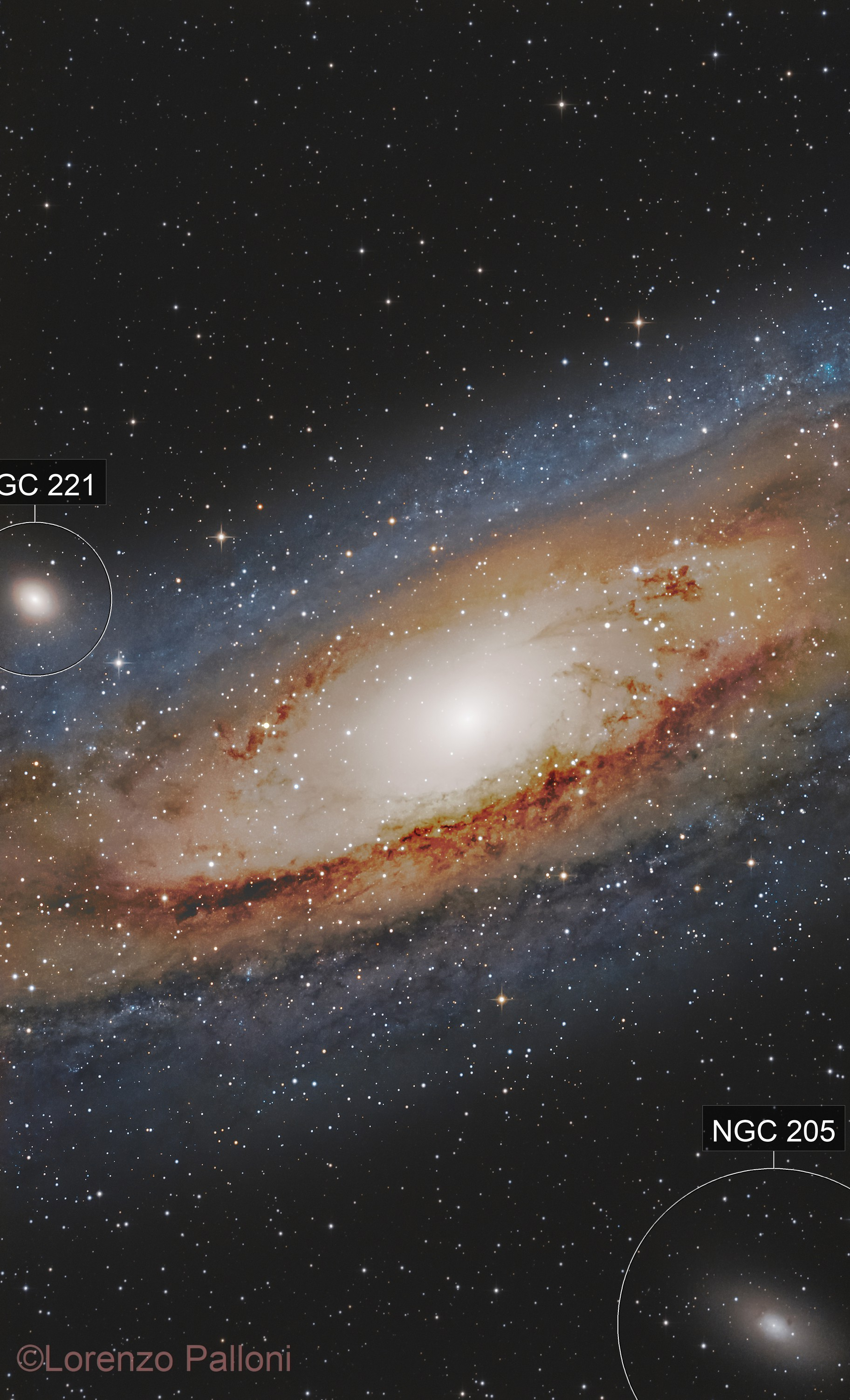 M31- into the heart of Andromeda