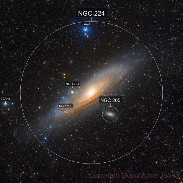 M31 LRGB 64-megapixel