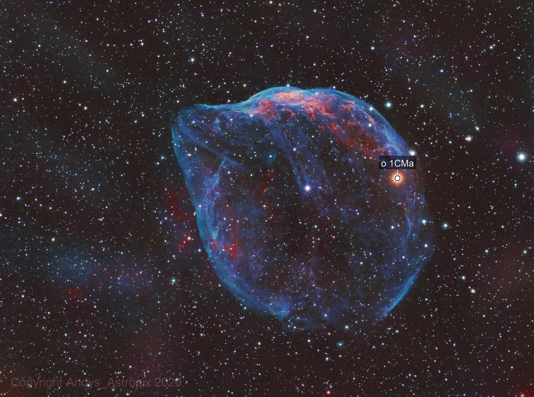 A Cosmic Bubble - Sh2-308
