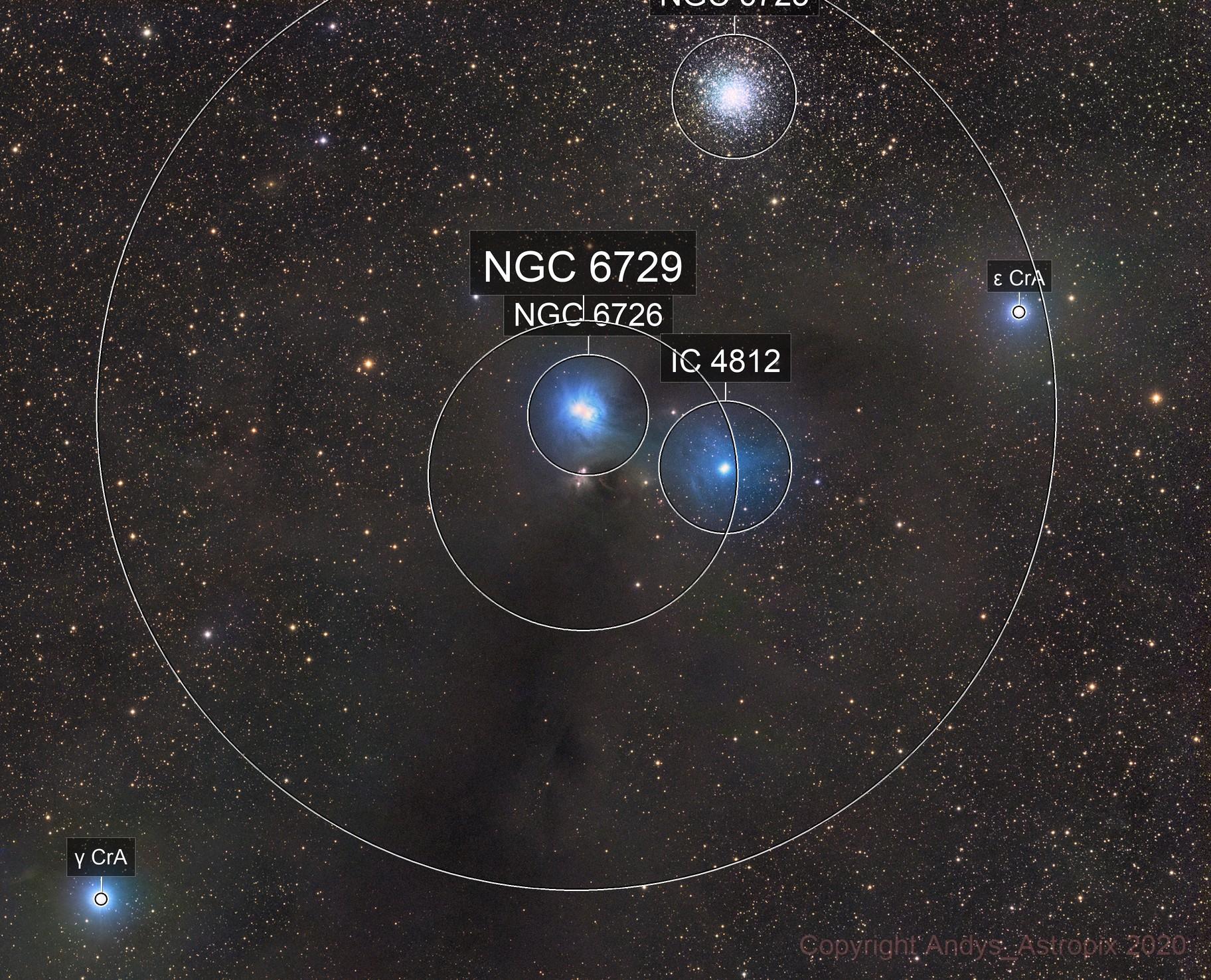 Corona from Corona - NGC 6726