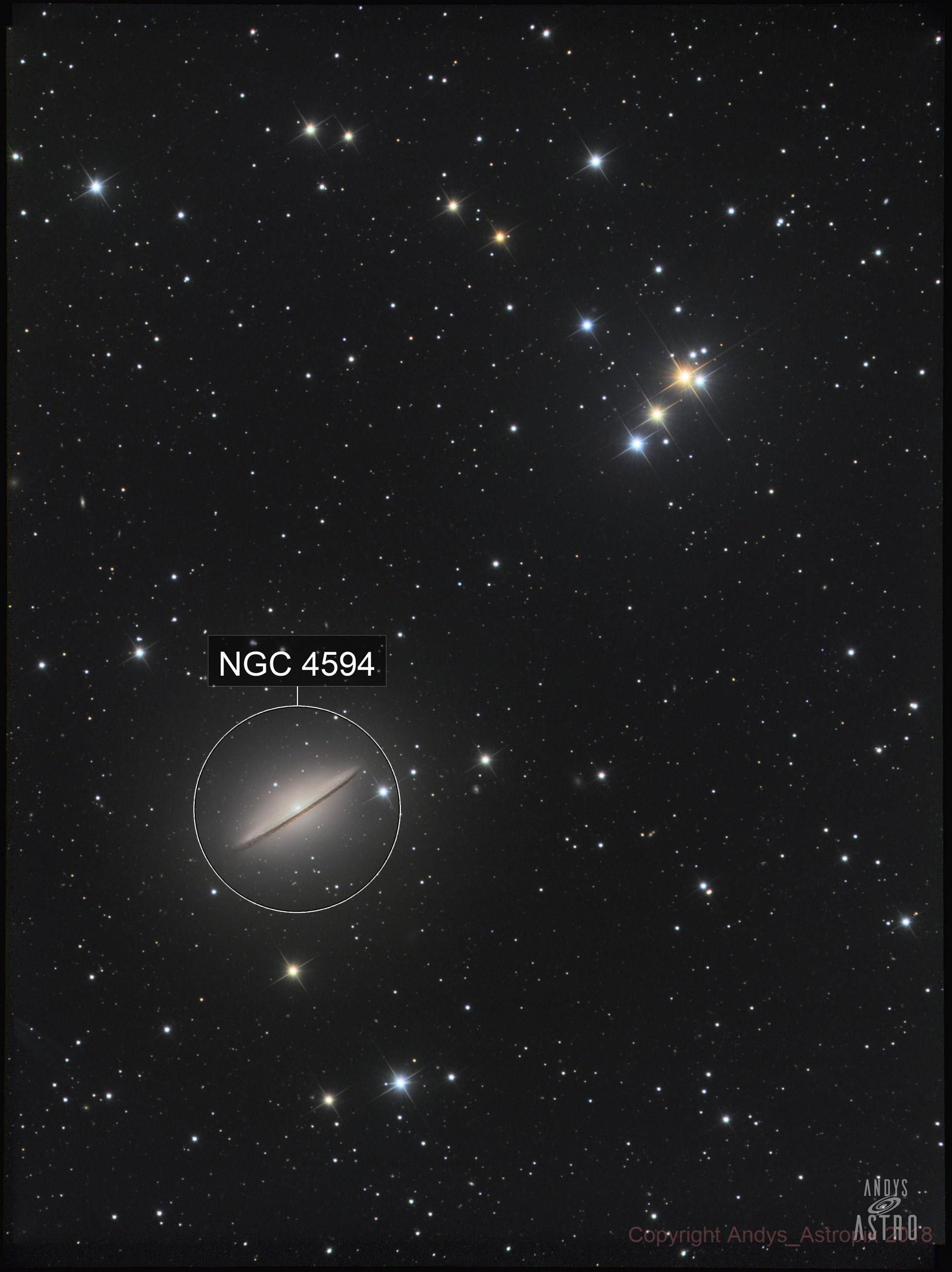 The Amazing Sombrero Galaxy - M104