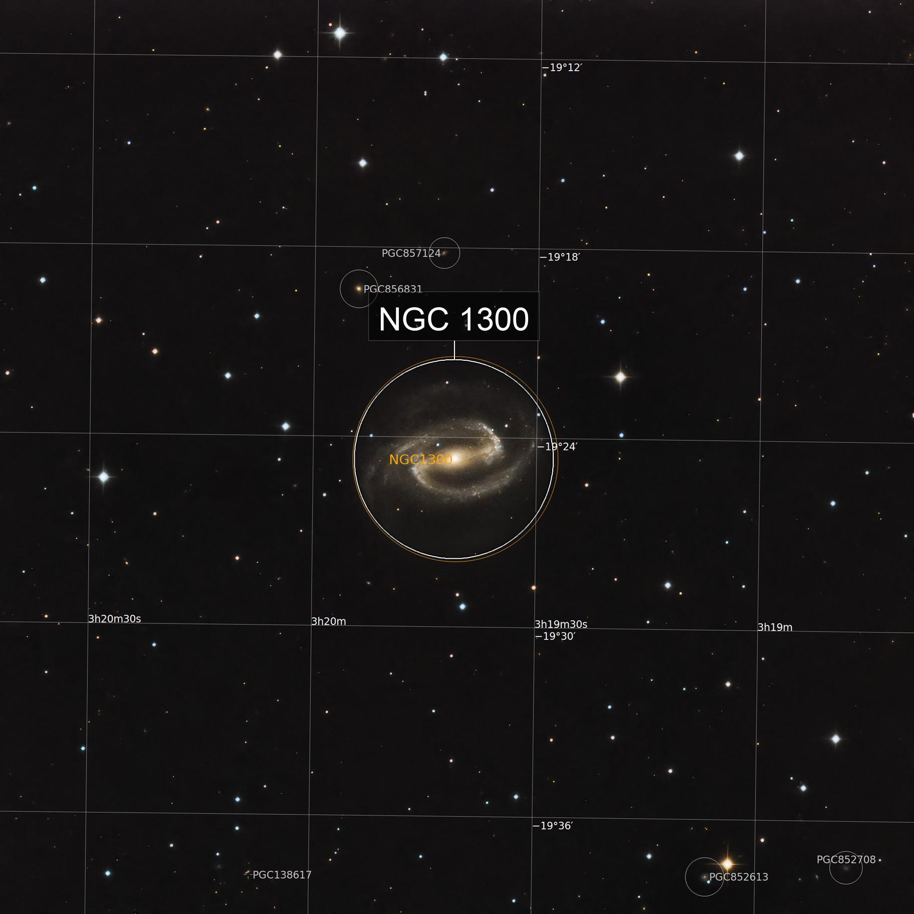 NGC 1300 Barred Spiral Galaxy 20210206 3600s RGB 01.5.2