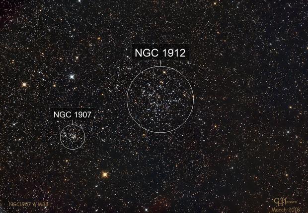 M38 & NGC1907